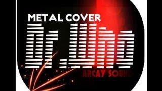 Doctor Who metal cover